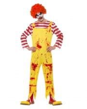 Bloody Killer Clown Costume