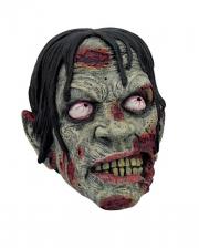 Bloody Zombie Skull 17cm