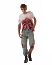 Blutiges Zombie Gedärme T-Shirt