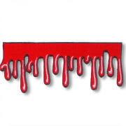 Blutstropfen Aufnäher