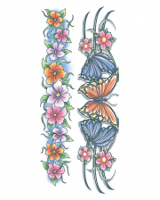 Body Bands Klebetattoo Flowers