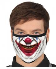 Evil Clown 3 Layer Everyday Mask