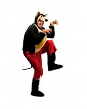 Großer Böser Wolf Overall Kostüm