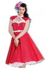 Bolero petticoat dress
