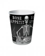 Bone Appetit Trinkbecher 8 Stück