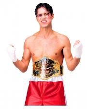 World Champion Boxer Gürtel