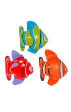 Bunte Fische aufblasbar