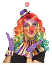 Colorful clown accessories set