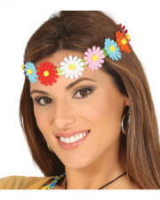 Colorful Hippie Flower Headband