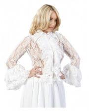 Burleska lace blouse white