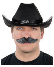 Mustache Black Heather Gray