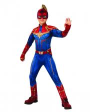 Marvel - Captain Marvel Kids Jumpsuit Costume
