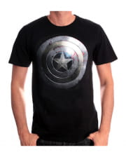 Captain America T-Shirt Silver Shield