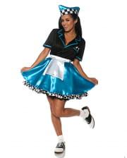 Car Hop Girl Costume turquoise