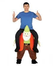 Rider On Dwarf Piggyback Costume