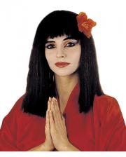 China Girl Perücke schwarz