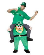 St. Patricks Day Reiter Carry Me Kostüm
