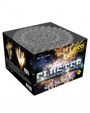 Cluster Feuerwerksbatterie 70 Schuss