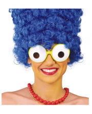 Cartoon Figure Carnival Goggles Green