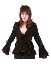 Gothic Strickjacket im Korsett Style