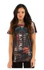 Corset Zombie Women's T- Shirt