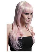 Sienna Wig blond pink