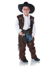 Cowboy Chaps & Fringes Vest Child Costume