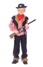 Cowboy Kinderkostüm Deluxe