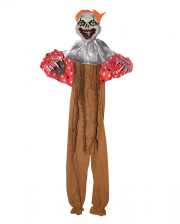 Creepy Clown Decoration Brown