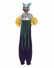Creepy Clown Decoration Purple