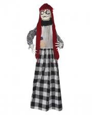 Creepy Rag Doll With Hair
