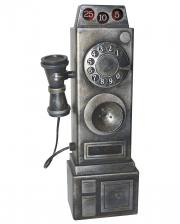 Creepy Vintage Telefon mit Licht & Sound