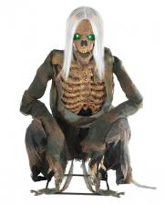 Bending Skeleton Reaper Animatronic With Sound