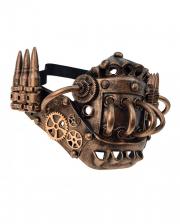 Cuthbert Steampunk Halbmaske