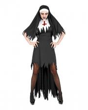 Demonic Nun Costume With Hood