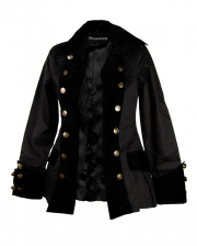 Ladies Pirate Jacket Black