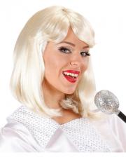 70s Pop Star Agnetha Wig