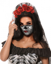 Day of the Dead Alltagsmaske für Frauen