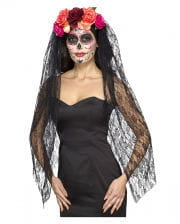 Day Of The Dead Hair Ripe With Roses