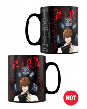 Death Note Kira & Ryuk Tasse mit Thermoeffekt