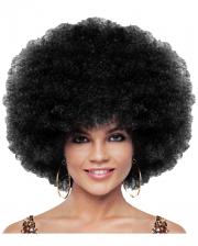 Deluxe Jumbo Afro Perücke schwarz