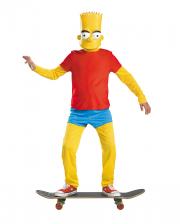 Bart Simpson Deluxe Costume For Children