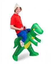 Dino Carry Me Kostüm aufblasbar