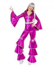 Disco Queen Kostüm pink