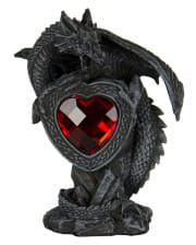 Dragon With Red Heart