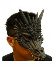 Dragon Half Mask Black