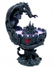 Dragon Fountain With Fogger & Castle Ruin