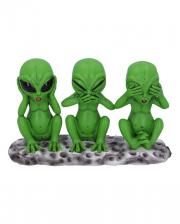 Three Wise Aliens Figure 16cm