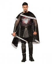 Böser König Kostüm mit Cape für Erwachsene