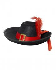 Noble Musketeer Hat Black